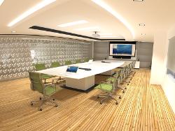 طراحی اتاق هیئت رئیسه