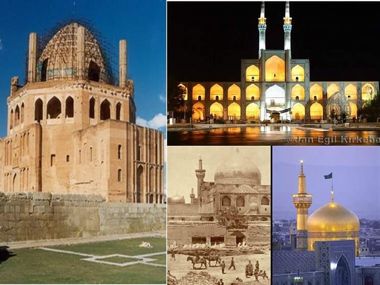 پاورپوینت بررسی معماری اسلامی قرن هفتم تا دهم سبك آذری