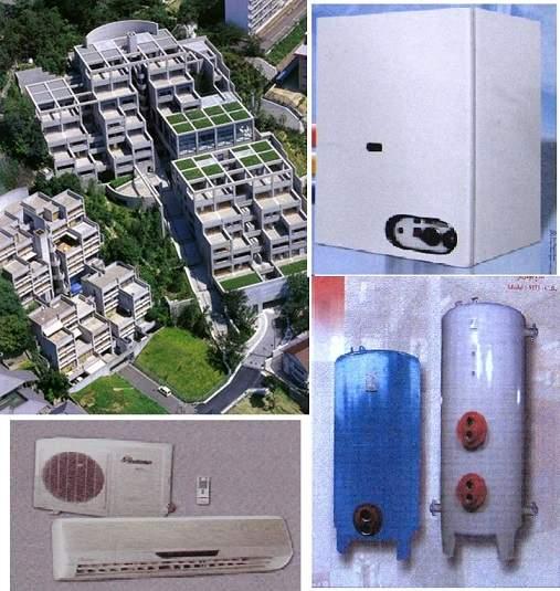 پاورپوینت بررسی ملاحضات طراحی سازه، سرمایش و گرمایش در مجتمع های مسکونی
