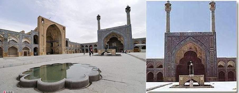 پاورپوینت بررسی مسجد جامع اصفهان