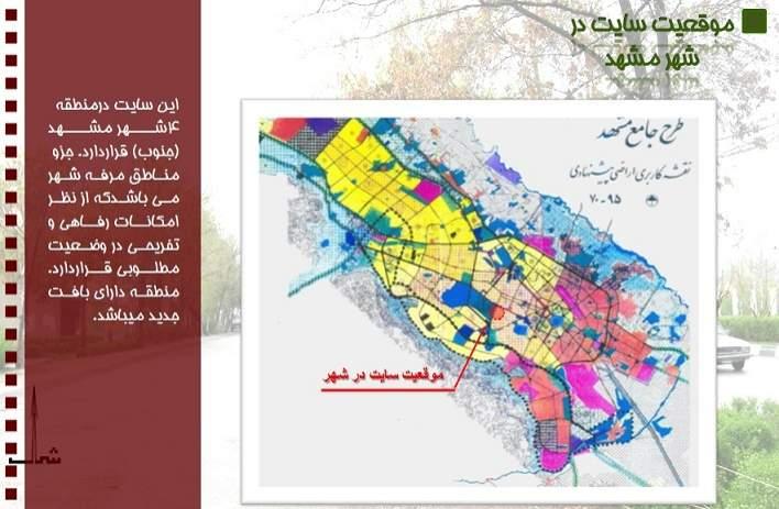 پاورپوینت آنالیز سایت در مشهد