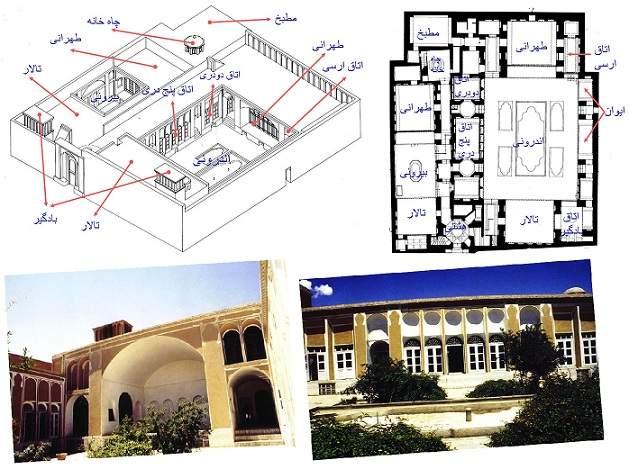 پاورپوینت بررسی یک نمونه بنای تاریخی ،طراحی معماری 1