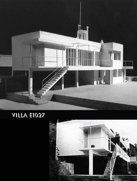 پاورپوینت مقایسه و تحلیل ویلا های E.1027 ، villa savoye