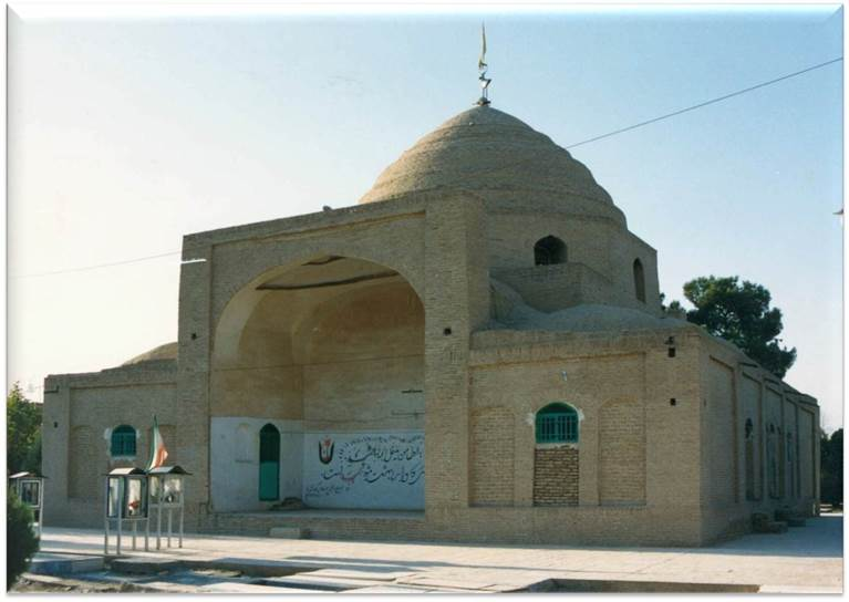 پاورپوینت بررسی مرمت امامزاده یحیی