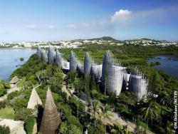پاورپوینت پروژه مرکز فرهنگی جیبائو در نومئا اثر رنزوپیانو